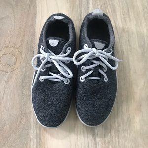 Allbirds wool runners in grey